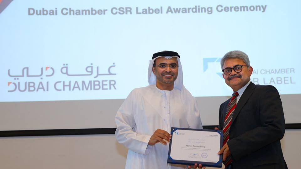 QBG once again received the prestigious CSR Label Award