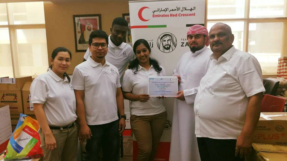 QBG participated in the Stationery Collection Drive 2018