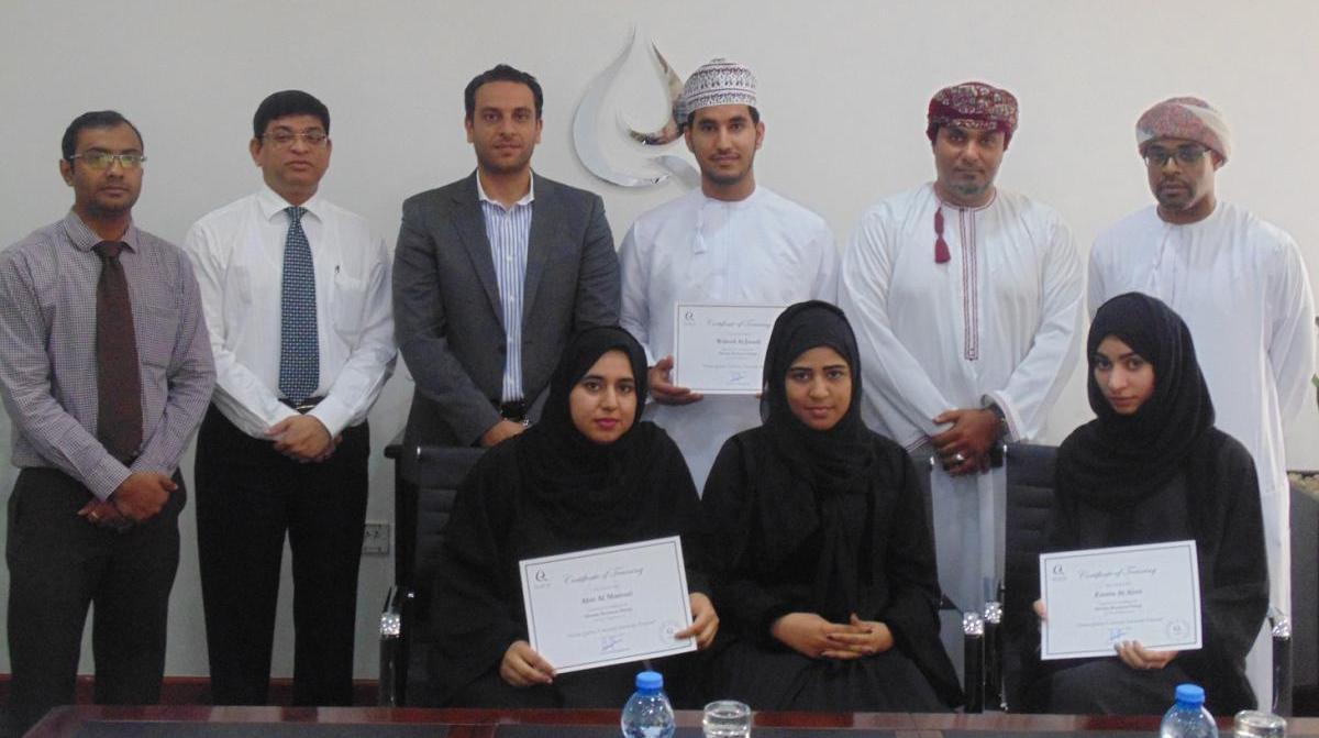 SQU Economics Students Complete Qurum Business Group Internship Program