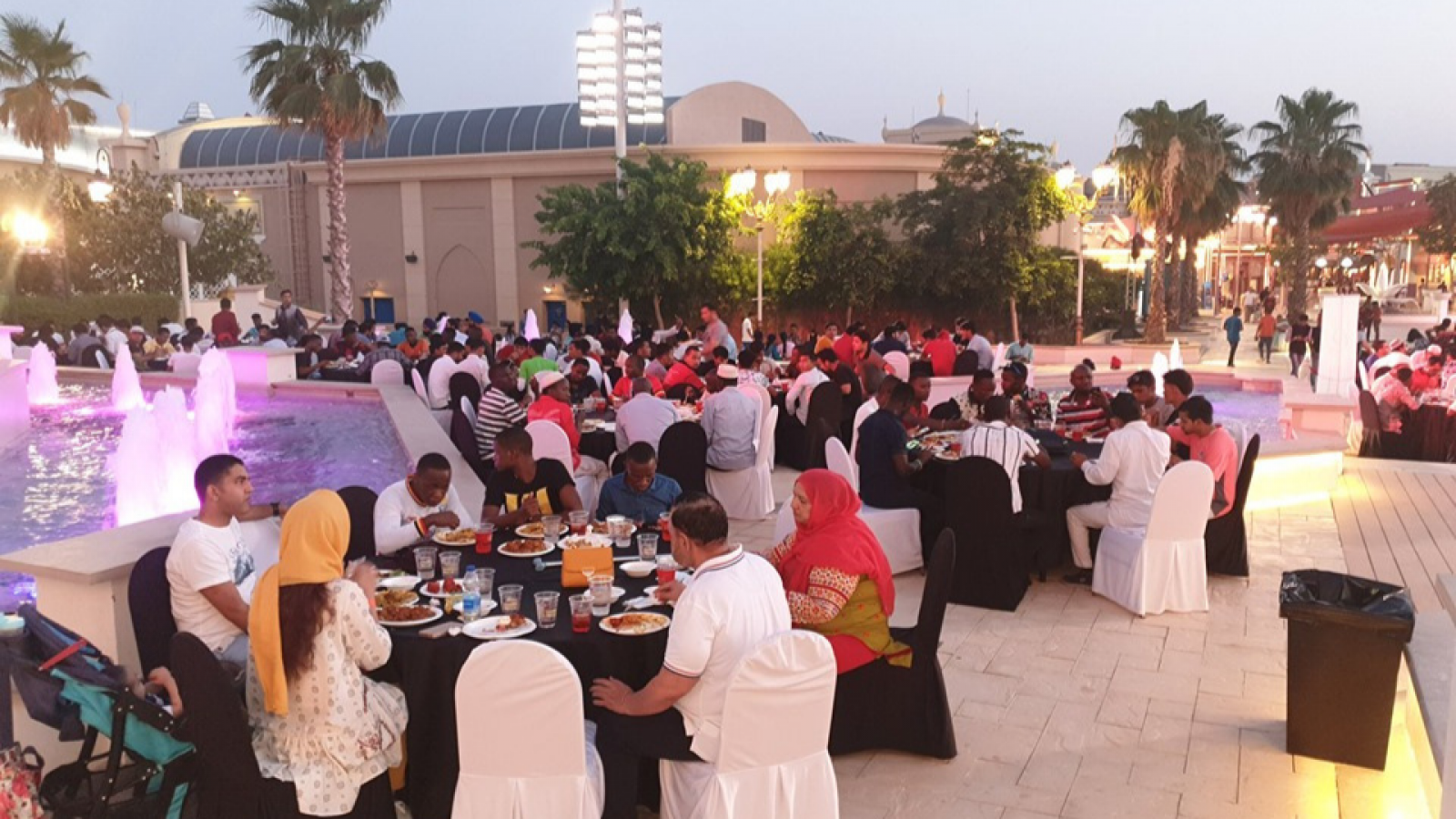 IFTAR GATHERING AT BOLLYWOOD PARKS