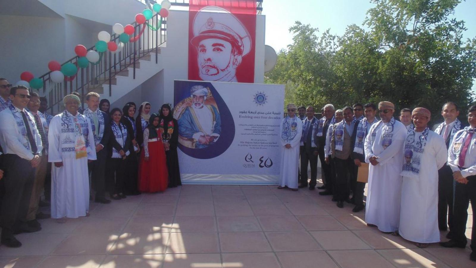 QBG Employees Stand Proud In Celebration Of 45th National Day