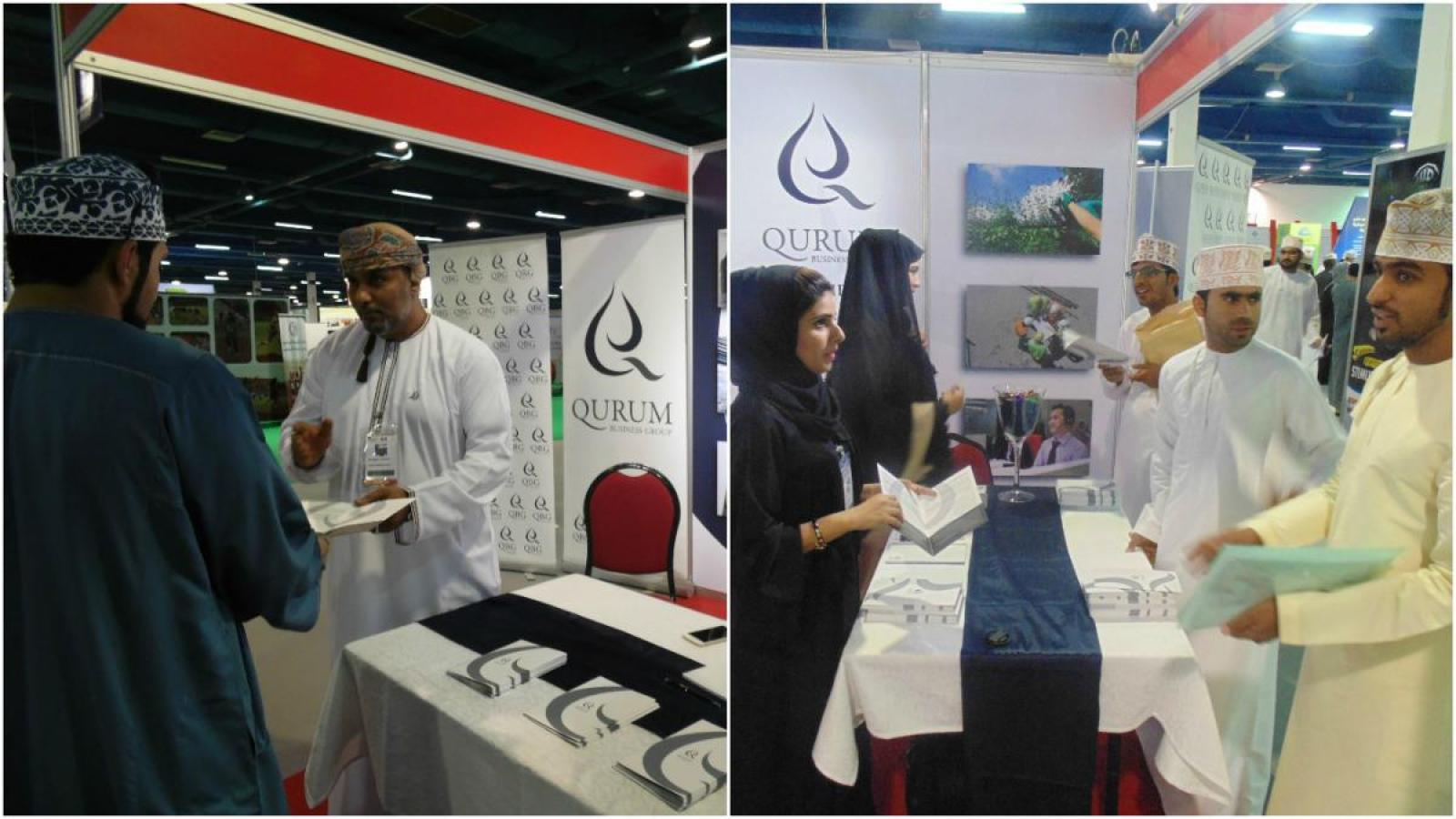 QBG Attracts Top Talent At 2016 Omanisation Career Fair