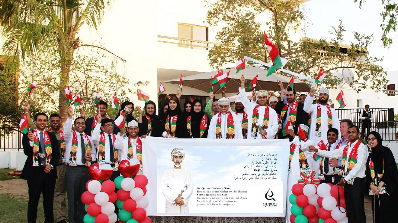 QBG Employees Mark Safe Return of His Majesty Sultan Qaboos