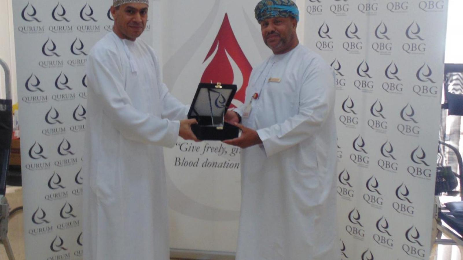 QBG Employees 'Give Freely' For World Blood Donor Day 2015